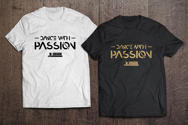 """Koszulki """"Dance with Passion by SALSAme"""""""