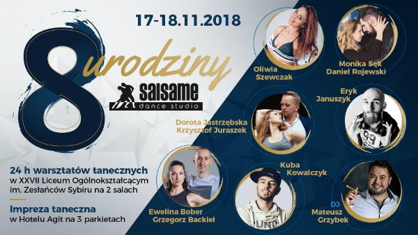 8 Urodziny SALSAme Dance Studio | 17-18.11.2018 Lublin