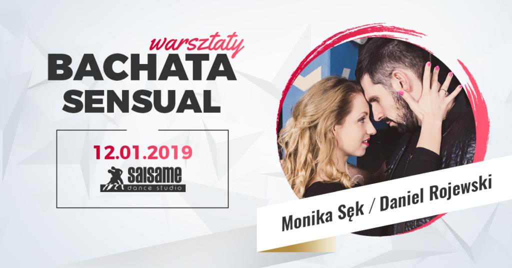Warsztaty bachaty sensual z Moniką i Danielem w SALSAme 12.01.2019