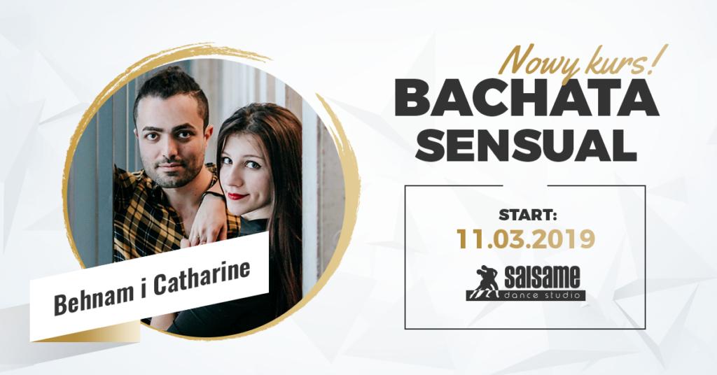 Bachata sensual P1 z Behnam i Catharine w SALSAme Dance Studio 11.03.2019